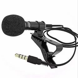 Blantech 3 Meter Collar Mic Condenser For Voice Recording/lapel Mic Mobile Pc, Laptop, Android