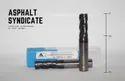 Asphalt 11mm 11x30x75(12 Mm Shank) 4f Flat - 50hrc, Length Of Cut: 30mm, 75mm