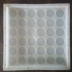 36 Sikka Chequered Tile Mould