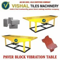 Paver Block Vibration Table