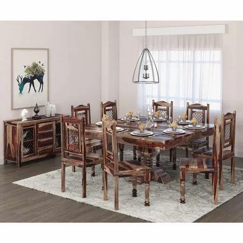 Furniture Boutiq Dallas Handcrafted Exquisite Solid Wood 10 Piece Dining Room Set At Rs 95999 Piece Wooden Dining Set Wooden Dining Room Set À¤²à¤•à¤¡ À¤• À¤¡ À¤‡à¤¨ À¤— À¤® À¤œ À¤• À¤¸ À¤Ÿ À¤µ À¤¡à¤¨ À¤¡ À¤‡à¤¨ À¤— À¤Ÿ À¤¬à¤²