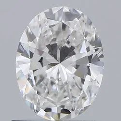 0.70 Oval  E VS2 Natural Diamond