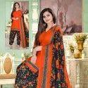 Stylish Printed Cotton Dress Material