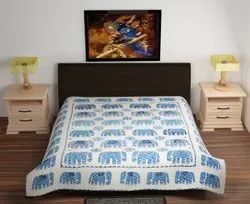Tree Of Life Applique Bed Cover - Curtains