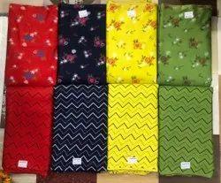 41-44 Inch Printed Ladies Suit Cotton Fabric Material
