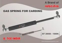 GAS SPRING FOR CARDING