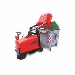 Mini Diesel Ride On Road Sweeper (Premium)