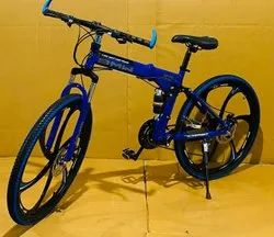 Blue BMW Foldable Cycle