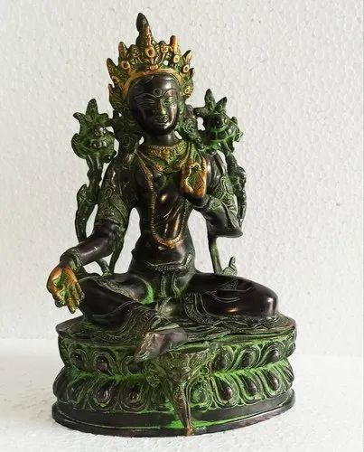 Brass Tara With Fine Work