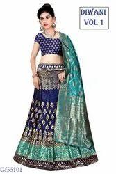 Banarasi Silk Designer Lehenga Choli
