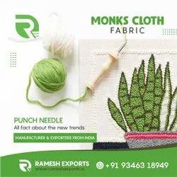 Monks Cloth DIY Needle Fabric