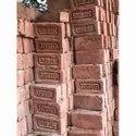 Awaz Clay L.p Red Bricks, Size: 4x7x3 Inch