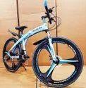 Mercedes Benz Blue Shark Foldable Cycle