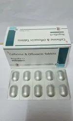 Cefixime 200 Mg Ofloxacin 200mg Tablets