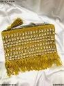Stylish Handloom Cotton Weaving Pouch Bag