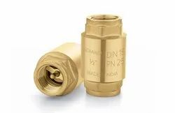 Brass Spring Loaded Check Valve, For Water Line, Packaging Type: Standard