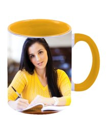 Printed Ceramic Promotional Mug, Capacity: 300 Ml