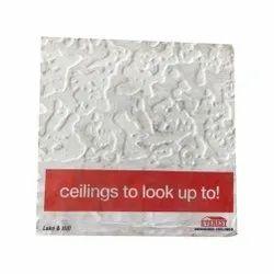 Lake And Hill White False Ceiling Tiles