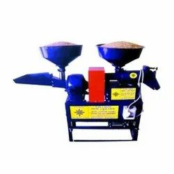 Automatic Modern Rice Mill Huller Grain Grinding Machine, 3 HP, Single Phase