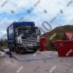Waste Management Concrete Weighbridge