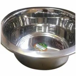Round 8 Inch Stainless Steel Bowl, For Home, Hotels
