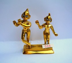 Brass Radha Krishna