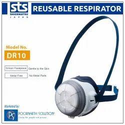 Shigematsu DR10R Reusable Dust Respirator Half Face Mask