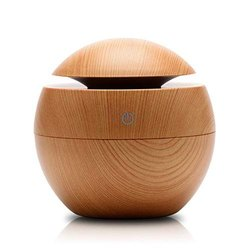 Plastic Brown Wooden Aroma Diffuser Humidifier