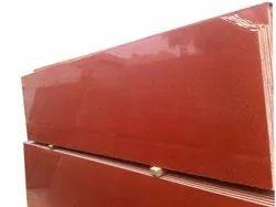 Polished Slab Lakha Red Granite, Thickness: 18 mm