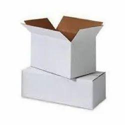 Cardboard White Duplex Packaging Box, Weight Holding Capacity (kg): <5 Kg