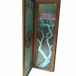 Designer Door Glass, Thickness: 6 Mm