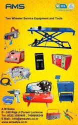 Two Wheeler Service Equipment Set