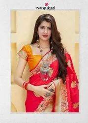 Manjubaa Maithili Silk Designer Saree Catalog