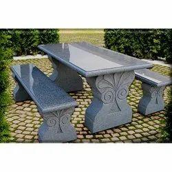 Granite Stone Bench