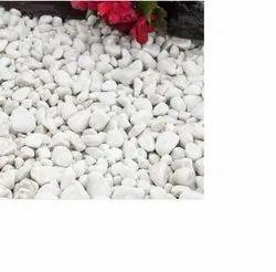 Polished White Pebble