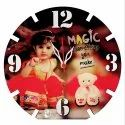 VHPC-40 Sublimation Hardboard Clock Photo Frame