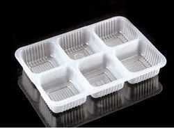 PET 6 Cavity Chocolate Packaging Blister Tray