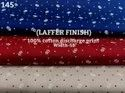 Laffer finish 100% cotton printed shirting fabric