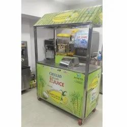 Electric Automatic Sugarcane Juice Machine, For Commercial