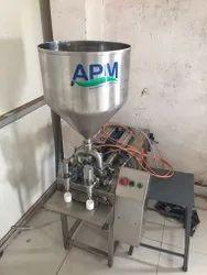 Semi Automatic Two Head Paste Filling Machine