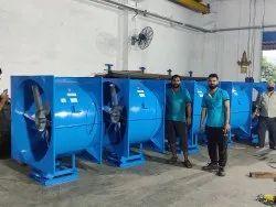 0.25 to 100 HP Tubular Axial Fan