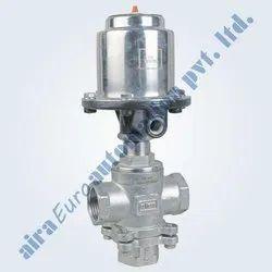 3/2 Way Straight Type Mixing & Diverting Medium Pressure Control Valve