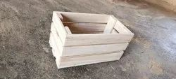 Wooden Gift Crate