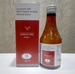 Lycopene With Multivitamin & Multimineral Syrup For Hospitals, Nursing Homes & Doctors