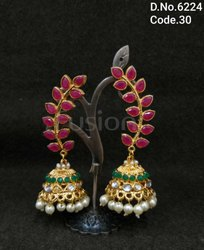 Antique Handmade Jhumka Earrings