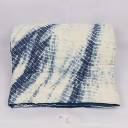 Handmade Jaipuri Shibori Printed Cotton Quilt Exporter
