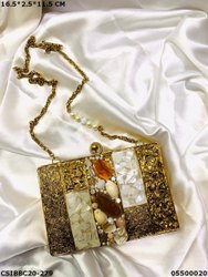 Brass MOP Clutches