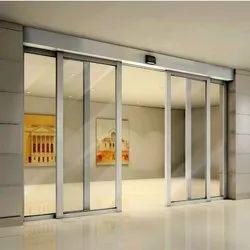 Standard White Main Gate Entry Sliding Door, For Office
