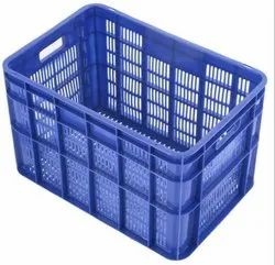 Large Plastic Vegetable Crate - 56ltr