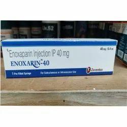 Enoxarin-40 Enoxaparin Injection 40 mg/0.4 ml